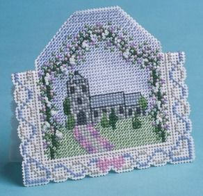 wedding day cross stitch