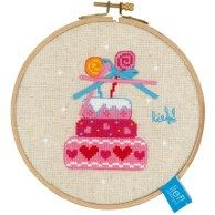 birthday cake hoop kit