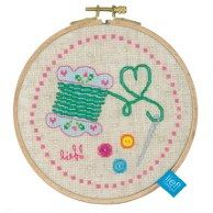 needle and thread hoop kit