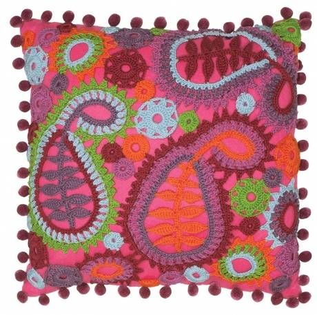 Paisley Cushion Crochet