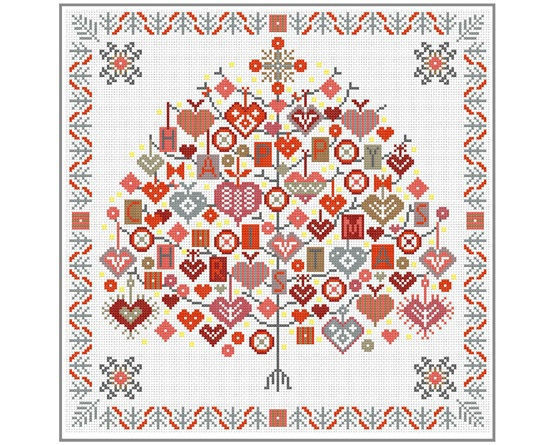 Hygge Scandinavian Inspired Cross Stitch