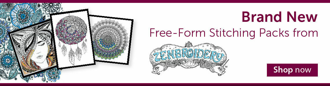Free-Form Stitching Packs from Zenbroidery