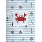 Crab Cross Stitch Card Kit