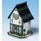 The Bay Tree Cafe 3D Cross Stitch Kit