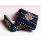 Rosebud Box 3D Cross Stitch Kit
