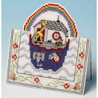 Noah's Ark Card 3D Cross Stitch Kit
