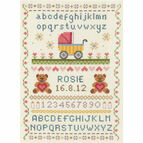 Classic Birth Sampler Cross Stitch Kit
