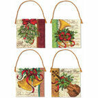 Set of 4 Traditional Ornament Cross Stitch Kit