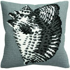 Conche Shell Cushion Panel Cross Stitch Kit
