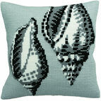 Periwinkle Cushion Panel Cross Stitch Kit