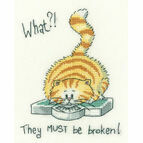 What?! Cross Stitch Kit