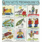 Dictionary Of Technology Cross Stitch Kit