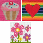 1st Mixed Needlecraft Pack For Girls - Chloe, Rae, Sarah (Set Of 3)