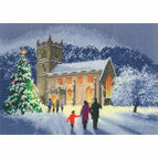 Christmas Church Cross Stitch Kit