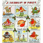 Dictionary Of Robins Cross Stitch Kit