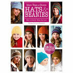 More Than A Dozen Hats & Beanies Knitting Pattern Book