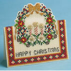 Christmas Ring 3D Cross Stitch Card Kit
