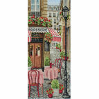 French City Scene Cross Stitch Kit