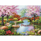 Japanese Garden Cross Stitch Kit
