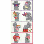 Tatty Teddy Mini Kits Set Of 8 Cross Stitch Kits