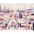 Lowry - The Canal Bridge Cross Stitch Kit