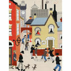 Lowry - The Cheese Cross Stitch Kit