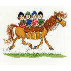 Thelwell Foursome Cross Stitch Kit