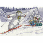 Fun In The Snow Cross Stitch Kit