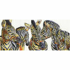 Wild Things Zebras Cross Stitch Kit