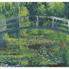 Monet - The Water-Lily Pond Cross Stitch Kit