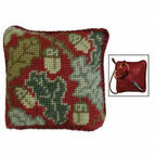 Red Acorn Pin Cushion Tapestry Kit