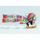 Christmas Penguin Cross Stitch Kit