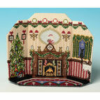 The Night Before Christmas 3D Room Scene Cross Stitch Kit