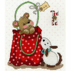 Ted & Ed - In The Bag Cross Stitch Kit
