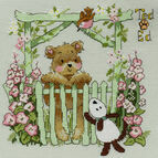 Ted & Ed - A Little Bird Told Me Cross Stitch Kit