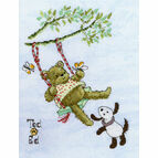 Ted & Ed - Flying High Cross Stitch Kit