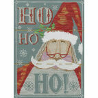 Ho Ho Ho! Cross Stitch Kit