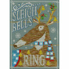 Sleigh Bells Ring Cross Stitch Kit