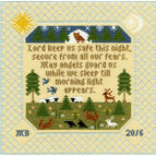 The Prayer Cross Stitch Kit