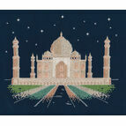 Agra By Night Glow In The Dark Cross Stitch Kit
