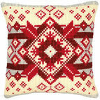 Geometric 2 Chunky Cross Stitch Cushion Panel Kit