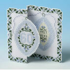 Diamond Anniversary 3D Cross Stitch Card Kit