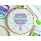 Beginners Balloon - Learn How To Cross Stitch Complete Tutorial Kit