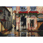 Morning in Venice Cross Stitch Kit