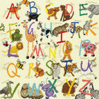Animal Alphabet Cross Stitch Kit