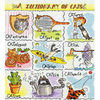 Dictionary of Cats Cross Stitch Kit