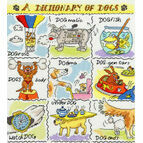 Dictionary of Dogs Cross Stitch Kit