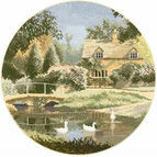 Ford Way Cross Stitch Kit