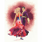 Paso Doble Cross Stitch Kit