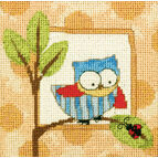 Curious Owl Tapestry Kit